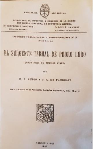 Surgente Termas Pedro Luro